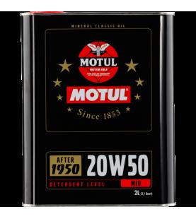 MOTUL 20W-50 Classic oil...