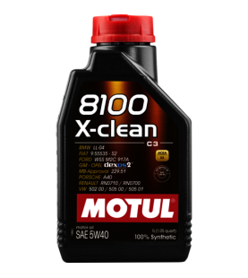 MOTUL 5W-40 8100 X-clean (1l)